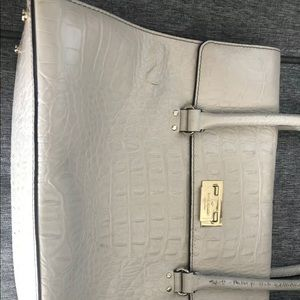 KATE SPADE BEIGE COW LEATHER PRE LOVED